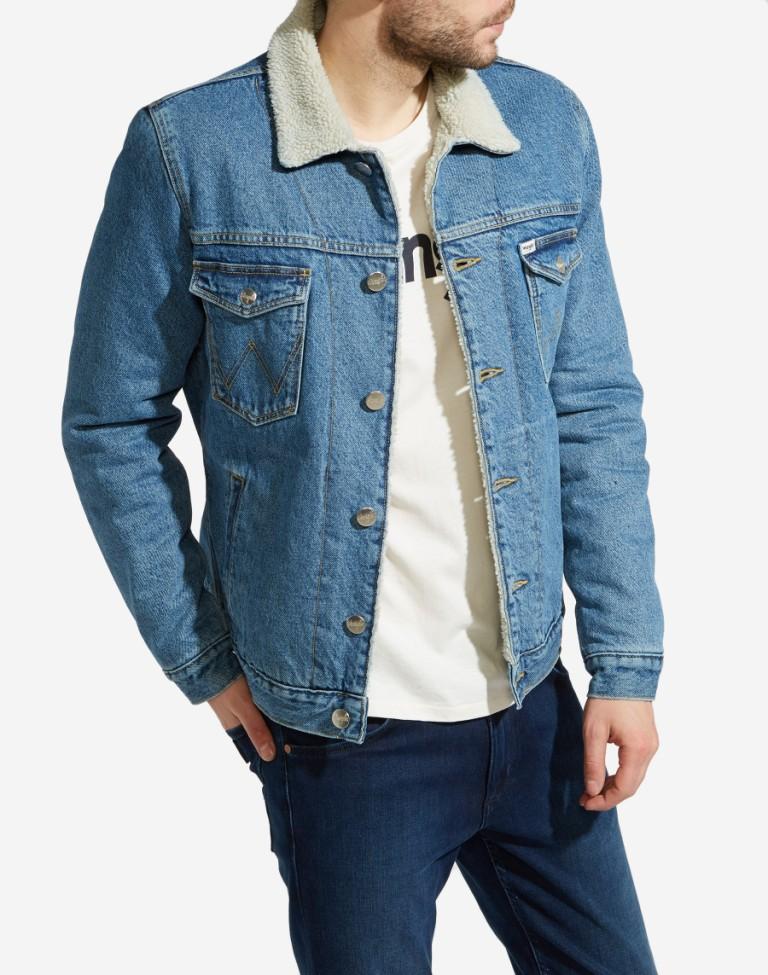a1d98816ee33b Giacca jeans con pelo – Giacche eleganti 2018-2019