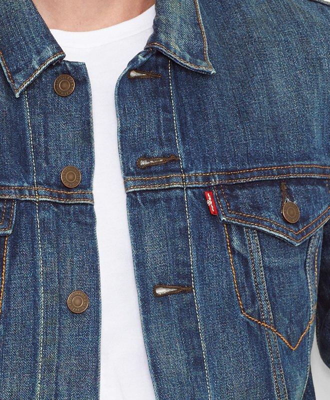 Giacca di jeans levi's uomo